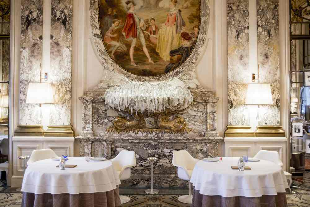 Alain Ducasse is bringing together five of his star chefs to prepare an exclusive dinner at Paris' Le Meurice. — Picture courtesy of Le Meurice via AFP