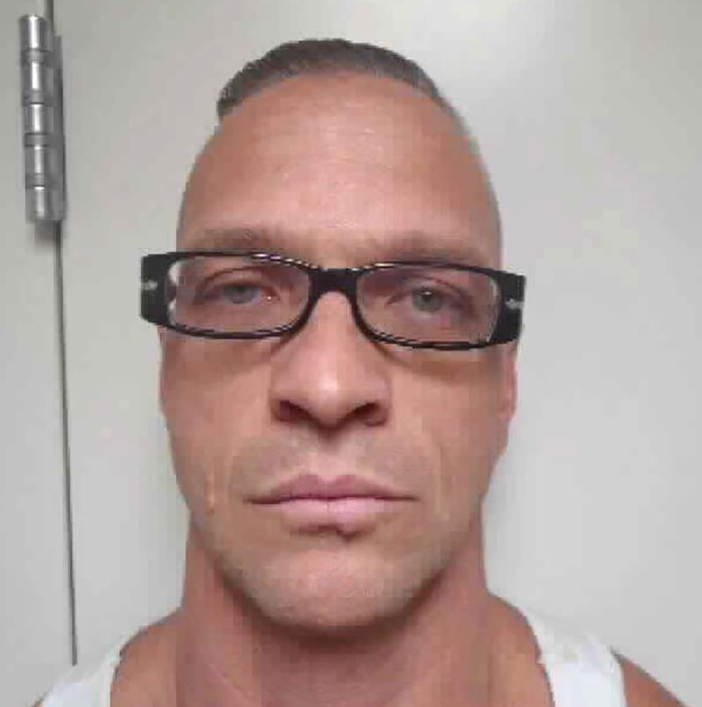 Image of death row inmate Scott Raymond Dozier, 48, released by the Nevada Department of Corrections January 8, 2019.  — AFP pic