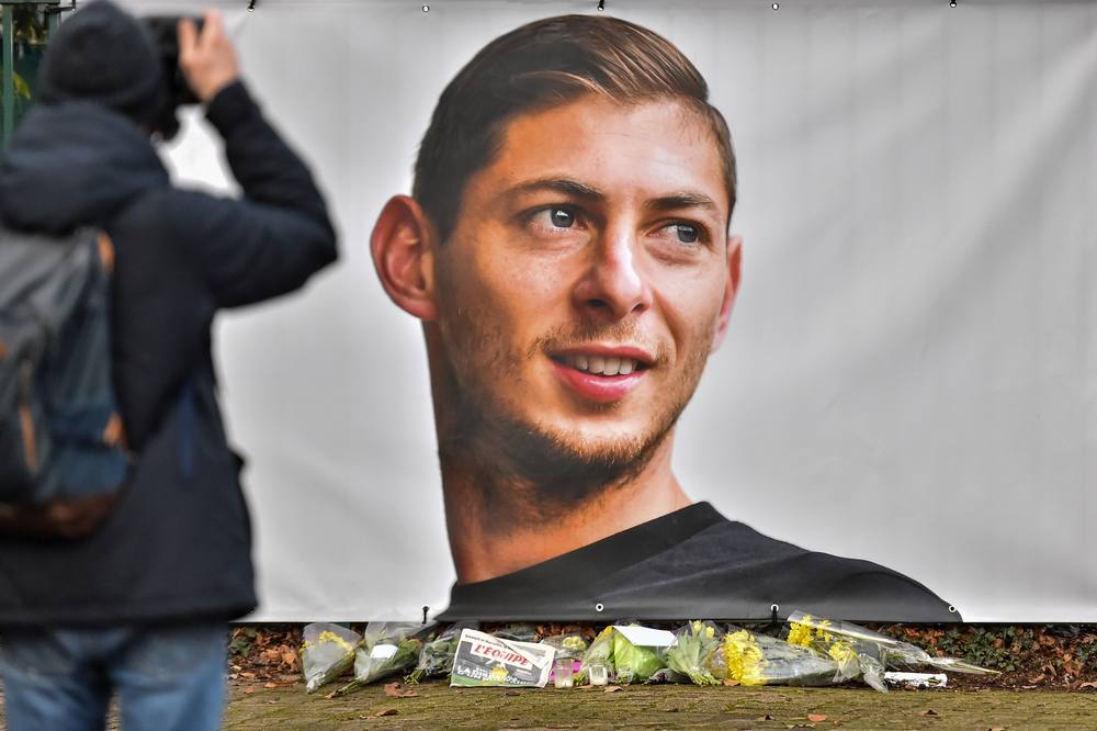 Emiliano Sala 28, died after a single-engine Piper Malibu aircraft flown by David Ibbotson crashed north of the Channel island of Guernsey in January 2019. — AFP pic