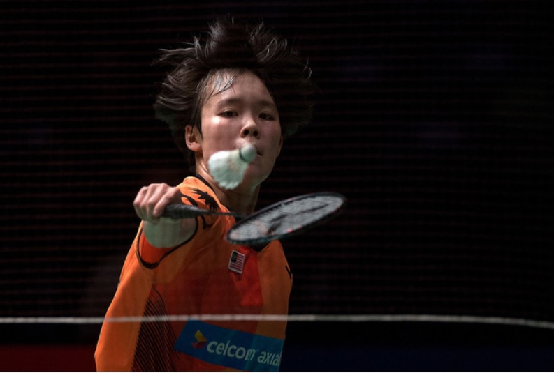 Malaysian women's singles Goh Jin Wei has been battling a stomach ailment since January this year. ― Bernama pic