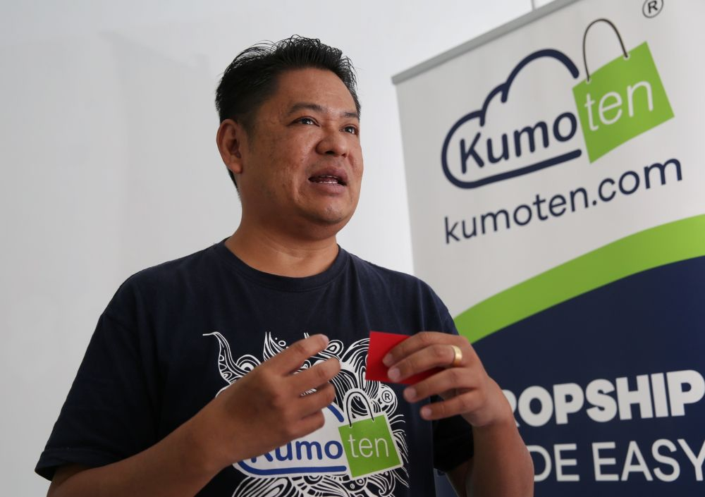 Leong says Kumoten lets merchants sell without having to worry about managing inventory.