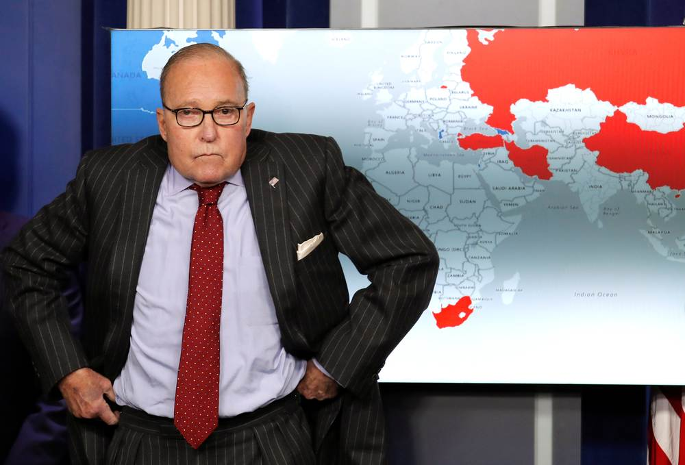 The trade conflict between US and China could take a decade to resolve, White House economic advisor Larry Kudlow (pic) warned on September 6, 2019.  — Reuters pic