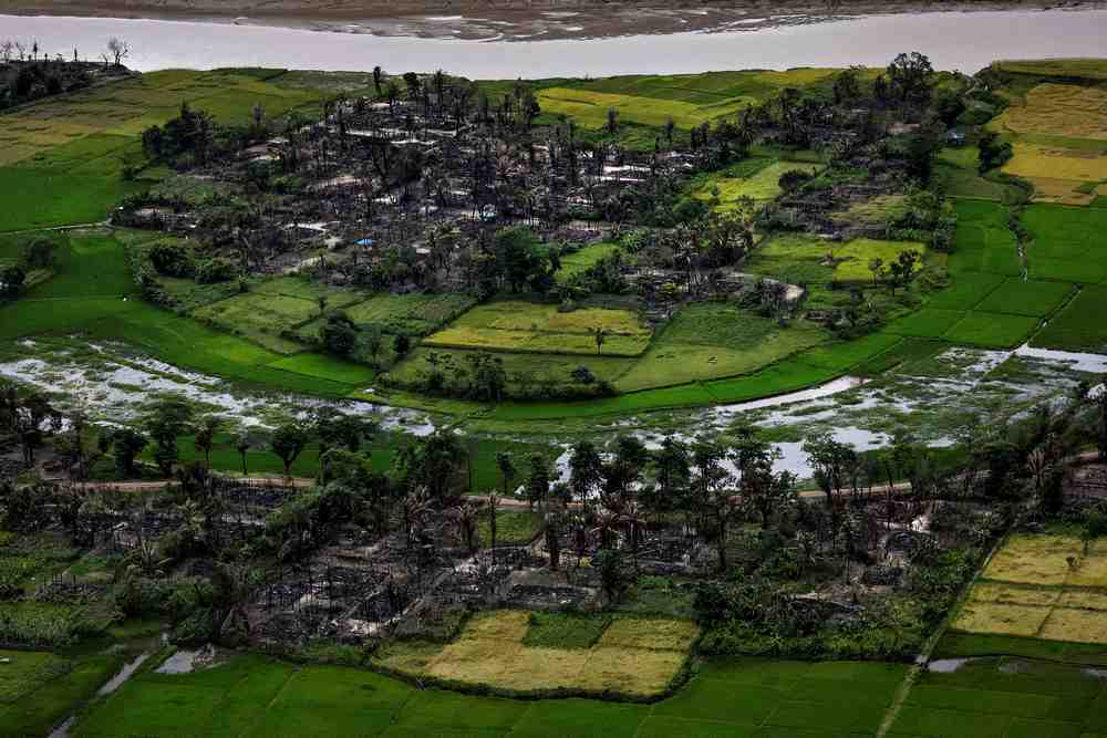 The Rakhine region has seen a lot of violence due to military action. — Reuters pic