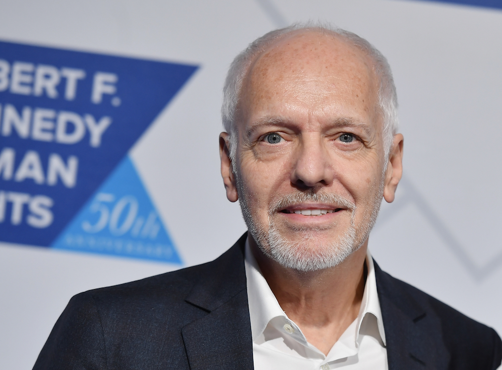 Peter Frampton attends the 2018 Robert F. Kennedy Human Rights' Ripple of Hope Awards in New York December 12, 2018. — AFP pic