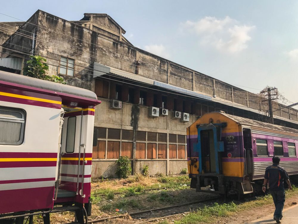 The Makkasan land was gifted to the railway authority by revered King Chulalongkorn more than 100 years ago. The country's first railway line was inaugurated during his reign. — Thomson Reuters Foundation pic
