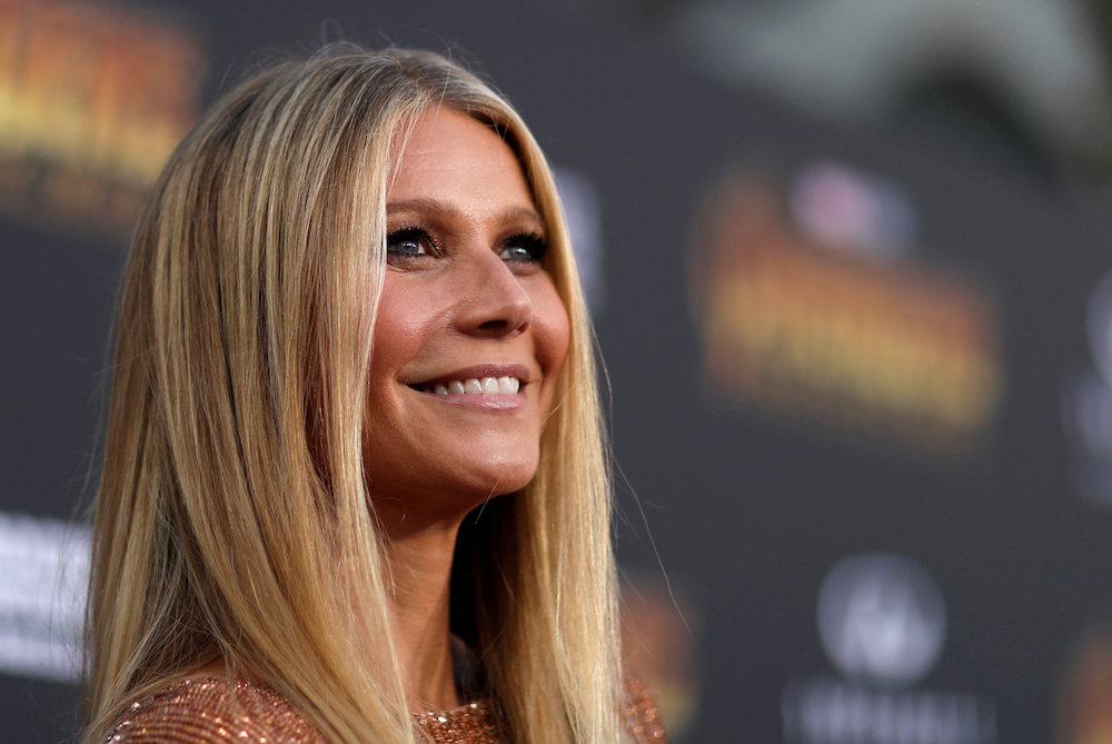 Actress Gwyneth Paltrow and the Coldplay frontman Chris Martin announced in 2014 that they were separating after 10 years of marriage. — Reuters pic