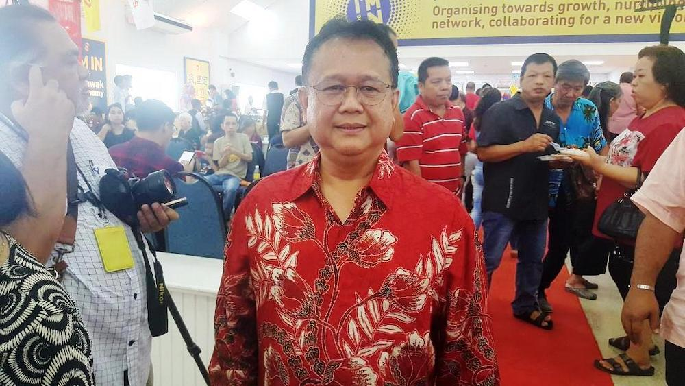 Datuk Alexander Nanta Linggi said the diversity in Sarawak had never been a problem among the people. — Picture by Sulok Tawie