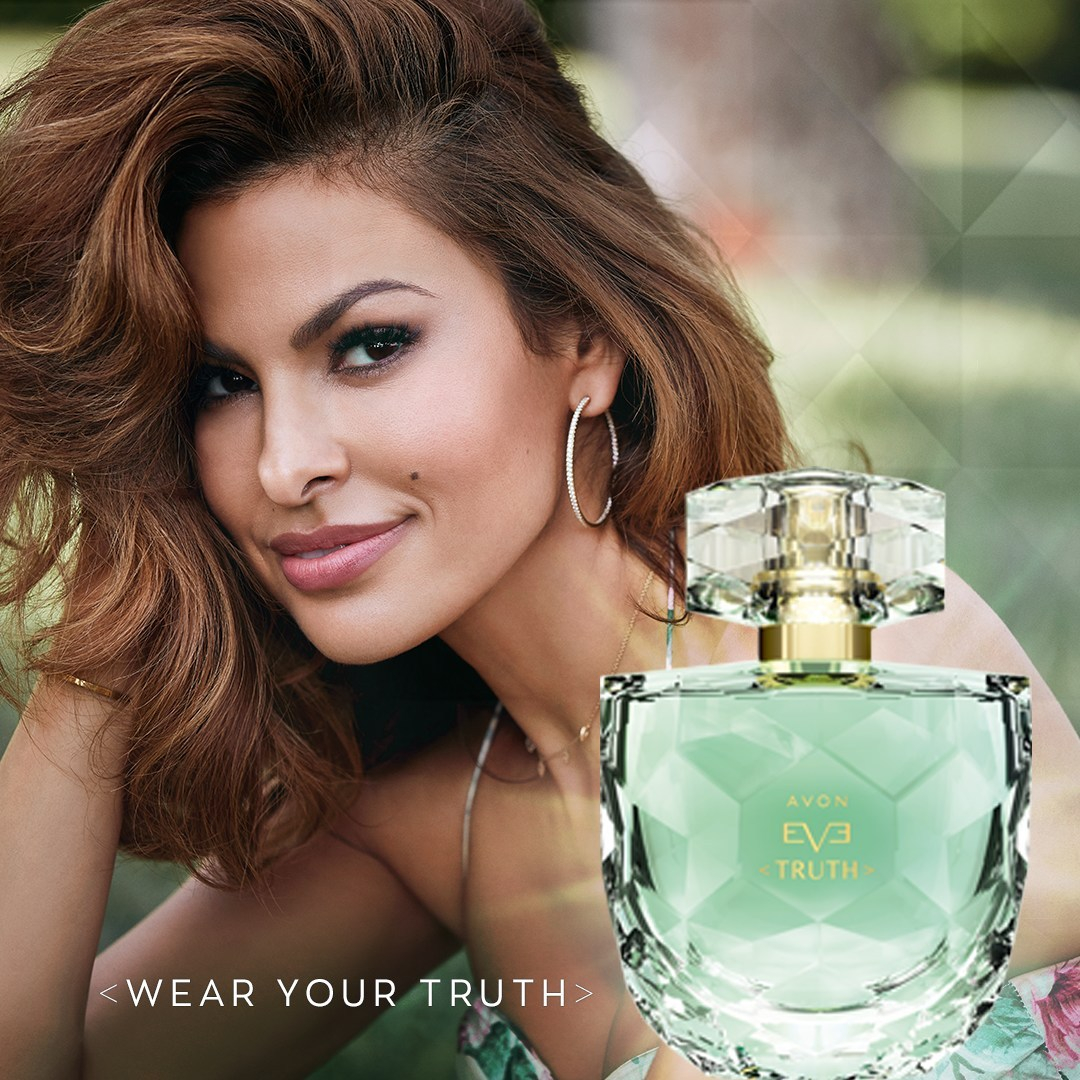 Eva Mendes unveiled as the face of Eve Truth Eau de Parfum by Avon. — Picture courtesy of Avon Products Inc