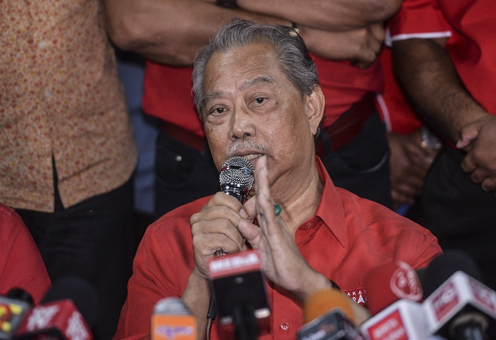 Tan Sri Muhyiddin Yassin said all ethnic groups in Malaysia have their own contribution to the country's development and it is not something that should be raised. — Picture by Shafwan Zaidon