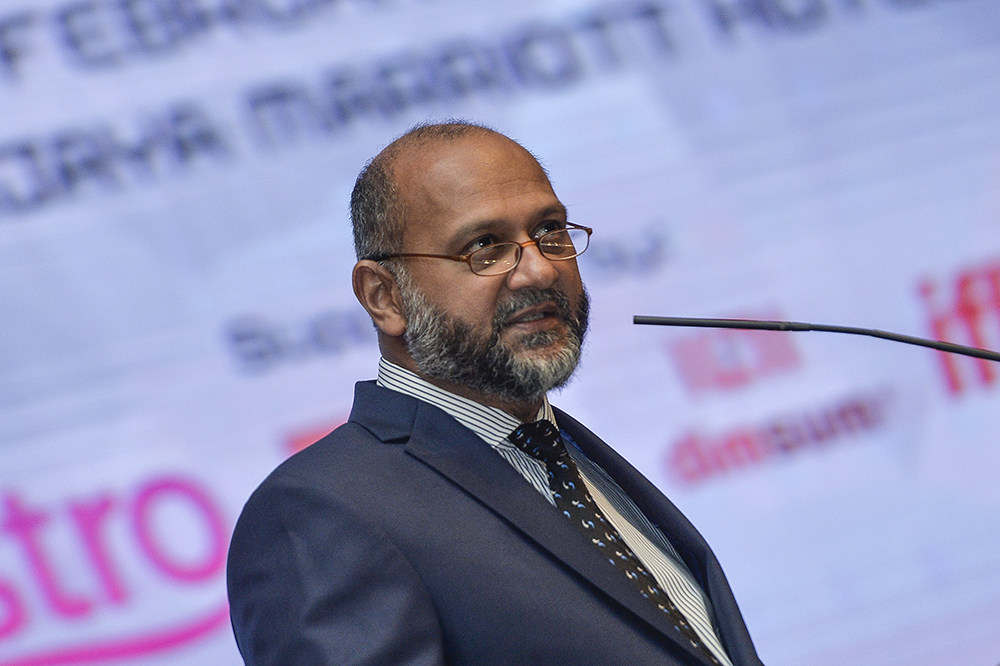 Communications and Multimedia Minister Gobind Singh Deo said Malaysia remains committed to high-end manufacturing and industrialisation by identifying strategic partners that will help make this country a preferred destination for the high-tech industry players. — Picture by Miera Zulyana