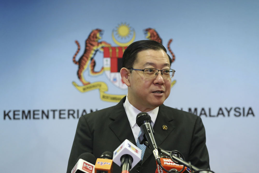 Finance Minister Lim Guan Eng dismissed a claim that the government did not have enough money to the extent that it had to cut allocations for ministries. — Picture by Yusof Mat