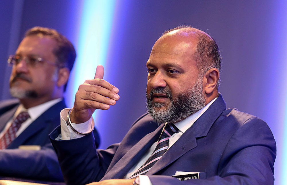 Communications and Multimedia Minister Gobind Singh Deo says a media council to oversee the code of ethics for the industry will start work before the middle of this year. — Picture by Sayuti Zainudin
