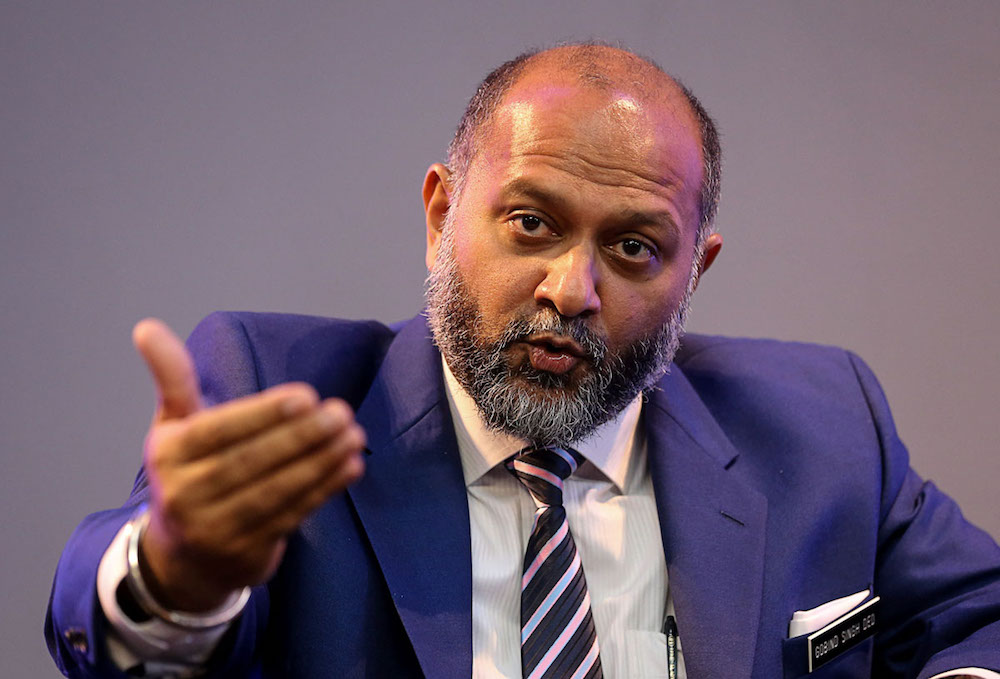 Communications and Multimedia Minister Gobind Singh Deo said the National Fiberisation and Connectivity Plan has received positive and solid cooperation from the state governments to help in achieving the targets of the project. — Picture by Sayuti Zainudin