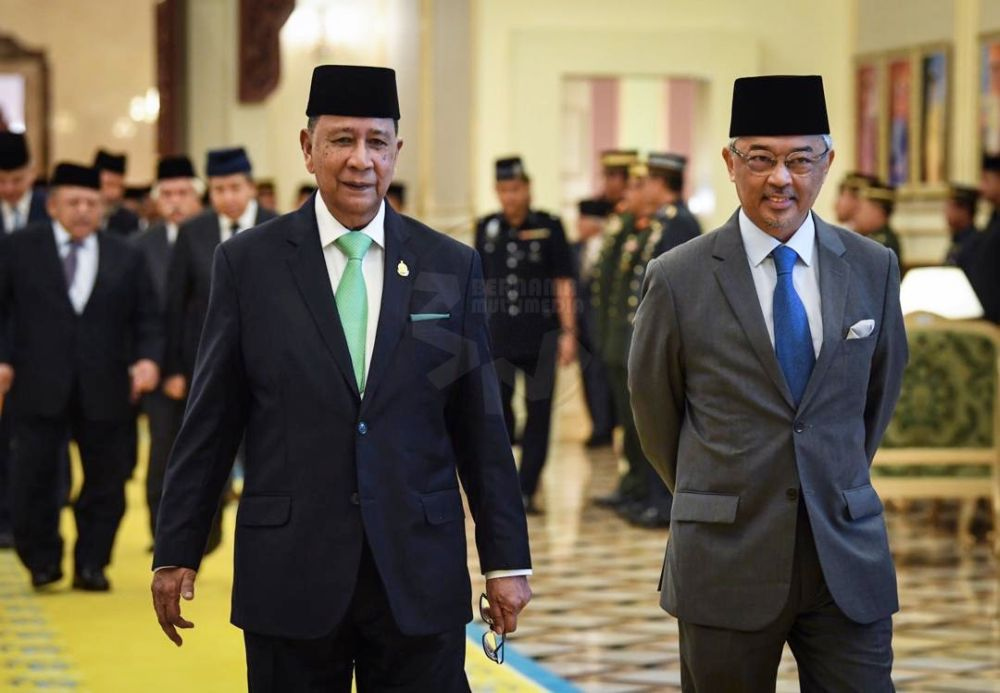 A group of academics allegedly warned the Conference of Rulers that the Yang di-Pertuan Agong may be prosecuted by the International Criminal Court (ICC) over the country's criminalisation of homosexuality. — File picture courtesy of Twitter/bernamadotcom