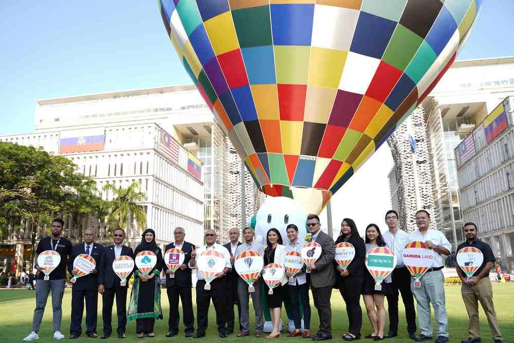 Balloons set to fill the sky again this year for the 10th Putrajaya International Hot Air Balloon Fiesta 2019. — Picture courtesy of AKA Balloon Sdn Bhd.