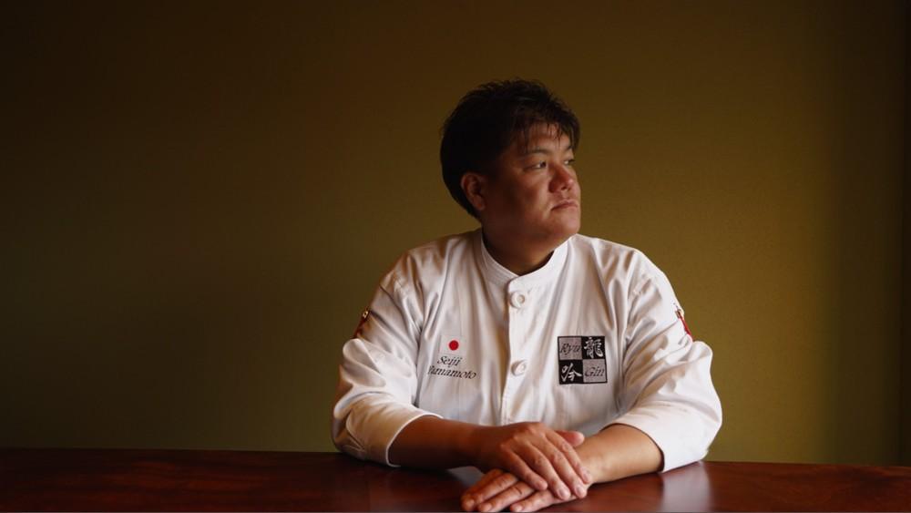 Chef Seiji Yamamoto, Nihonryori RyuGin — Picture courtesy of Asia's 50 Best via AFP