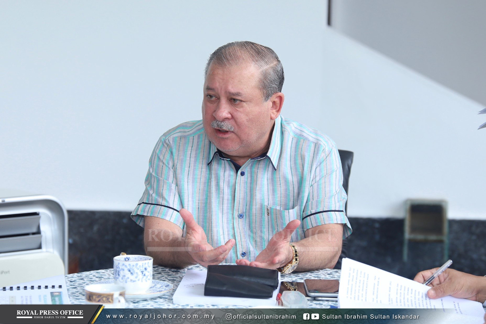 Johor ruler Sultan Ibrahim Sultan Iskandar said that there was a dire need for another hospital in Johor Baru as he wants his subjects in Johor to enjoy improved public health services. — Picture via Sultan Ibrahim Sultan Iskandar Facebook