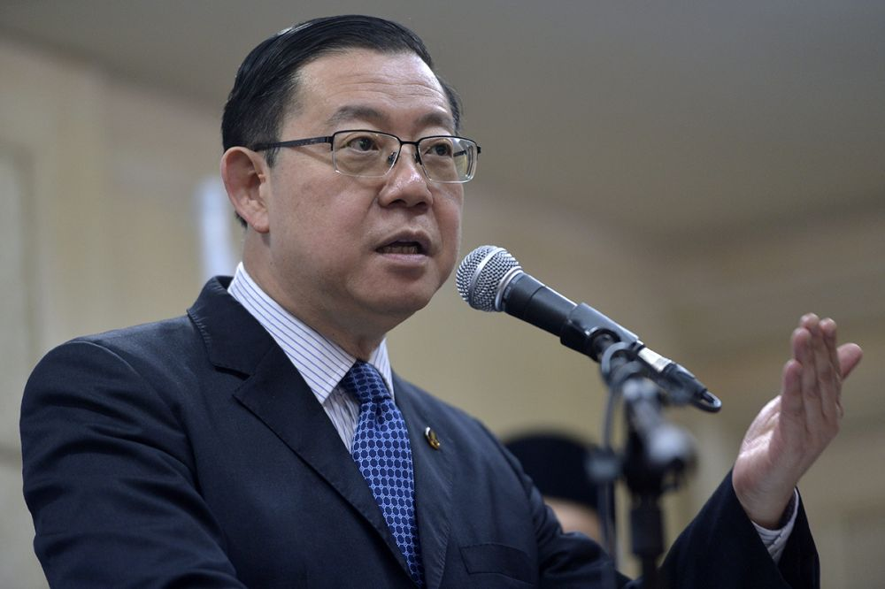 Finance Minister Lim Guan Eng said the ministry would not be extending the Special Programme for Voluntary Disclosure to IRB. ― Picture by Mukhriz Hazim
