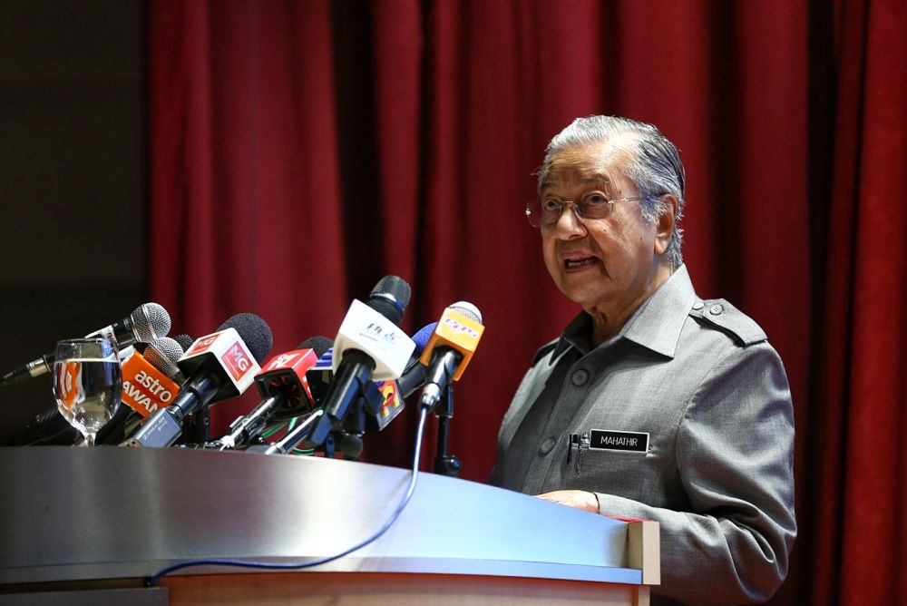On February 21, Prime Minister Dr Mahathir Mohamad confirmed that the RCI on the alleged judicial misconduct would be formed, but said the scope or how far back the RCI probe should cover had not been decided. — Picture by Ahmad Zamzahuri