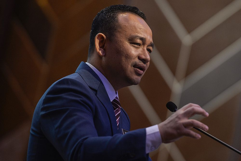 Education Minister Maszlee Malik speaks during the Asian Strategy & Leadership Institute's open dialogue in Sunway on February 14, 2019. — Picture by Shafwan Zaidon