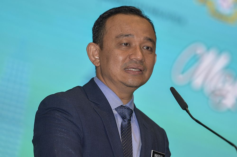 Education Minister Dr Maszlee Malik has dismissed speculation of impending changes in the ministry, saying the matter was not discussed in his recent discussions with Tun Dr Mahathir Mohamad. — Picture by Miera Zulyana