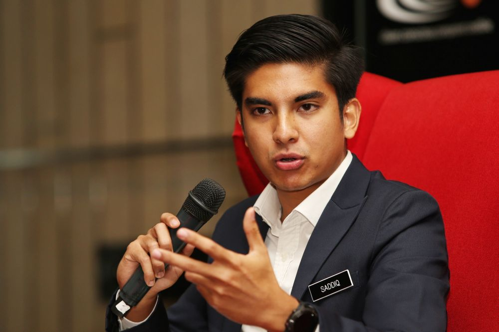 Syed Saddiq Syed Abdul Rahman speaks during a forum on conflict of interest in Kuala Lumpur February 21, 2019. — Picture by Choo Choy May