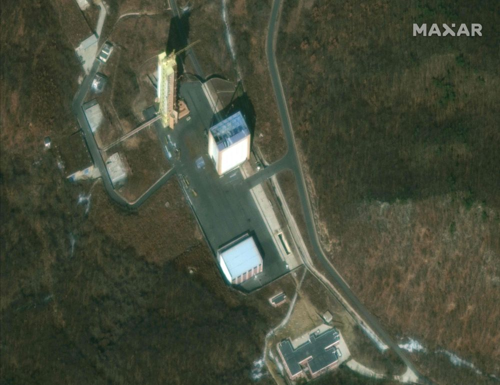 This satellite image provided by 2019 DigitalGlobe, a Maxar company, shows the Sohae Satellite Launching Station in North Korea, March 2, 2019. — HO/Satellite image ©2019 DigitalGlobe, a Maxar company pic via AFP