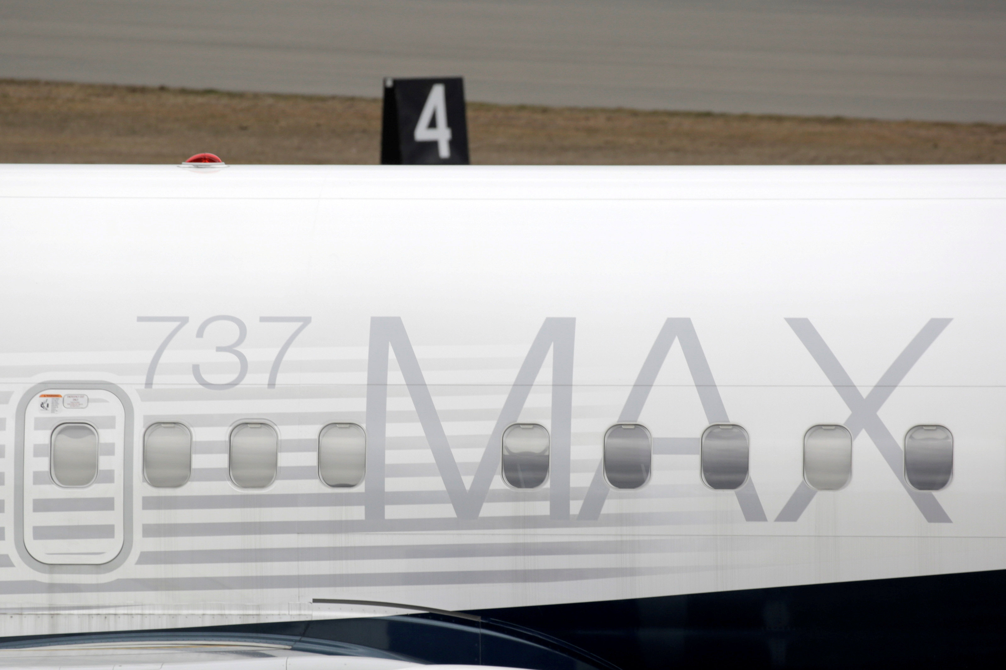 The 737 MAX has been grounded from commercial flight worldwide since March 2019 after two crashes killed 346 people in Ethiopia and Indonesia over a five-month span. ― Reuters pic