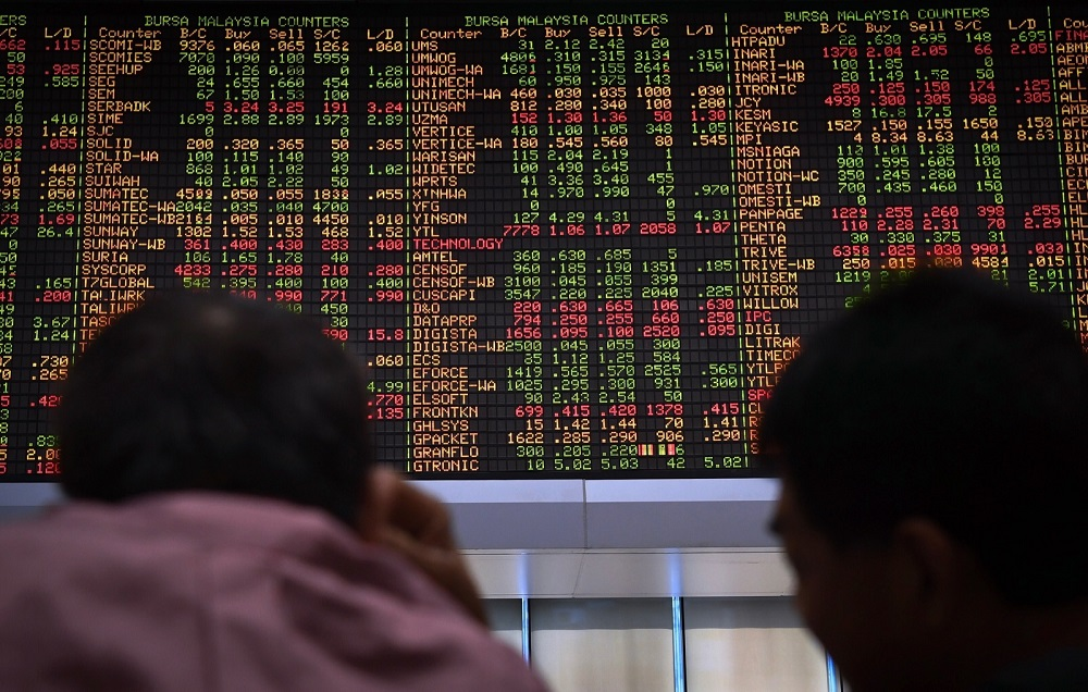 Bursa Malaysia was open for half-a-day trading on Thursday last week — eve of Chinese New Year, and all-day closure the following day, Friday. — Bernama pic
