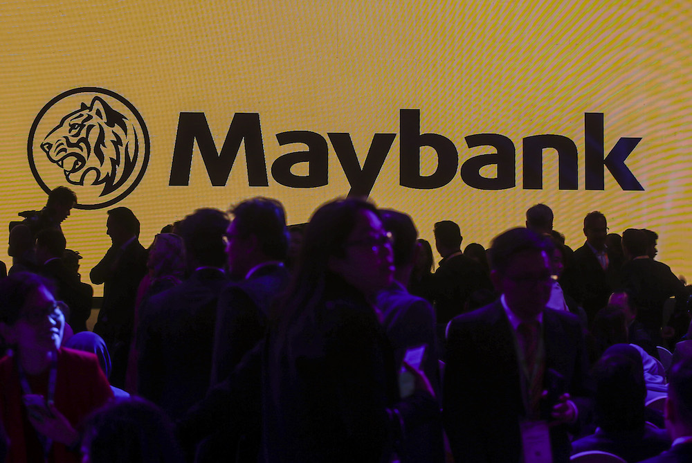 Maybank has extended its repayment assistance packages to its customers who are affected by the MCO and impact of the Covid-19 pandemic. — Picture by Firdaus Latif