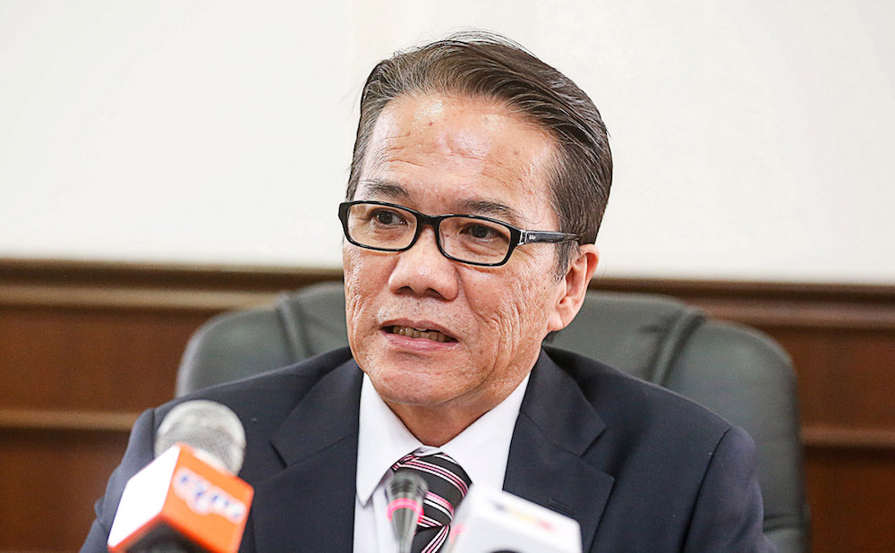 Warisan permanent chairman Datuk Liew Vui Keong said the move was to ensure that no candidate would involve in irregularities or abuse of power after becoming elected representatives. — Picture by Sayuti Zainudin