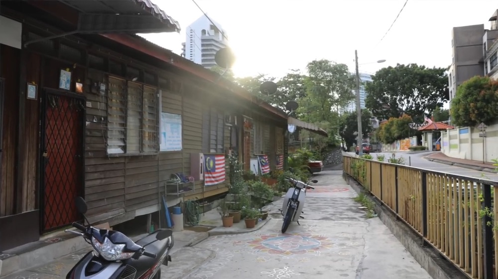 A longhouse residents' association in Taman Tun Dr Ismail (TTDI) opposed today another residents' association in the community that supported a condominium project near a park in the suburb. — Picture courtesy of Bukit Kiara Public Housing Residents' Organisation