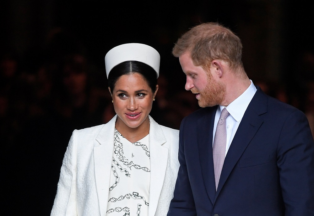 A file picture of Britain's Prince Harry and Meghan, Duchess of Sussex. — Reuters pic