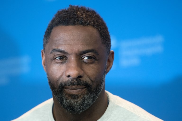 English actor Idris Elba is one of the few Black actors cast as the lead character of a British TV programme, according to a new report. — AFP pic