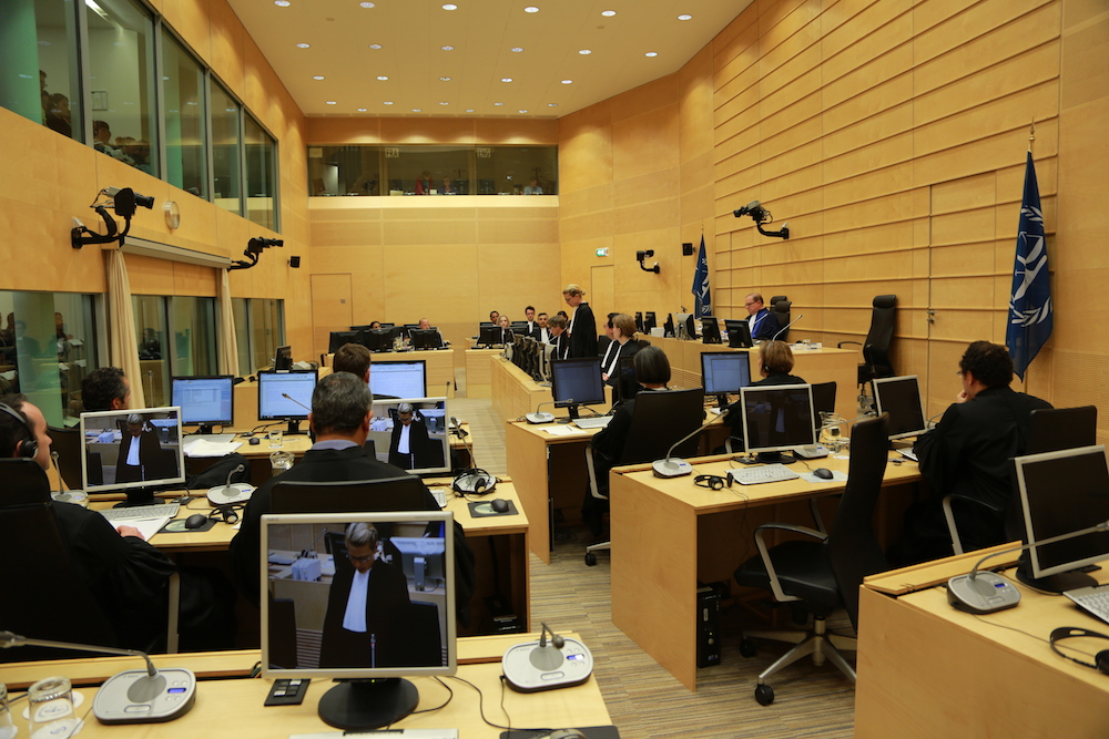 The Appeals Chamber of the International Criminal Court in a case. — Picture courtesy of International Criminal Court