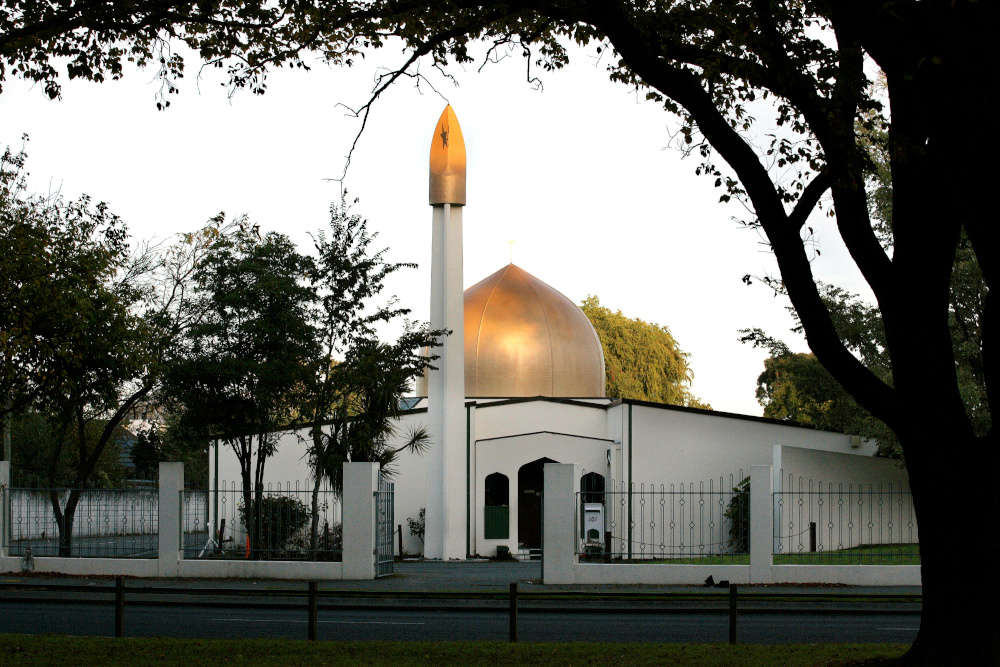 View of the Al Noor Mosque in Christchurch, New Zealand, in 2014. The Islamic Women's Council had warned police of another mosque threat from white supremacists. — Reuters pic