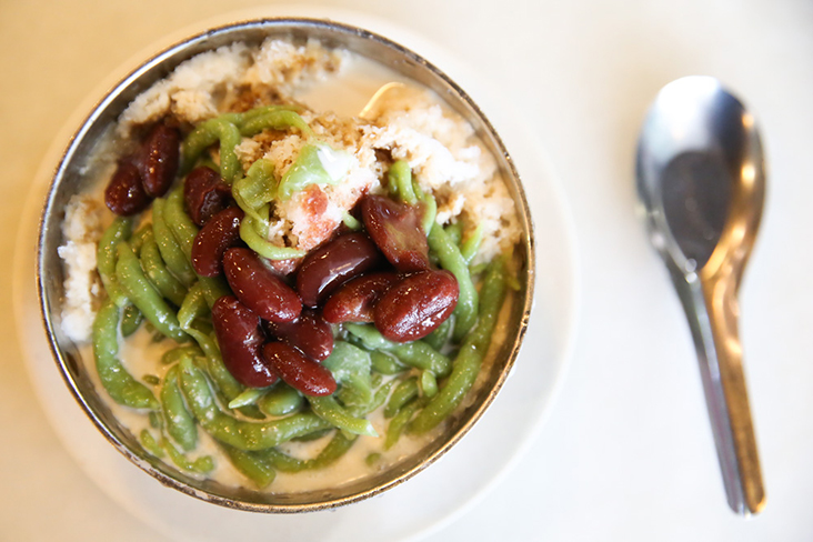 A bowl of 'cendol' at Nyonya Cendol Cafe comes with a money back guarantee — Pictures by Choo Choy May