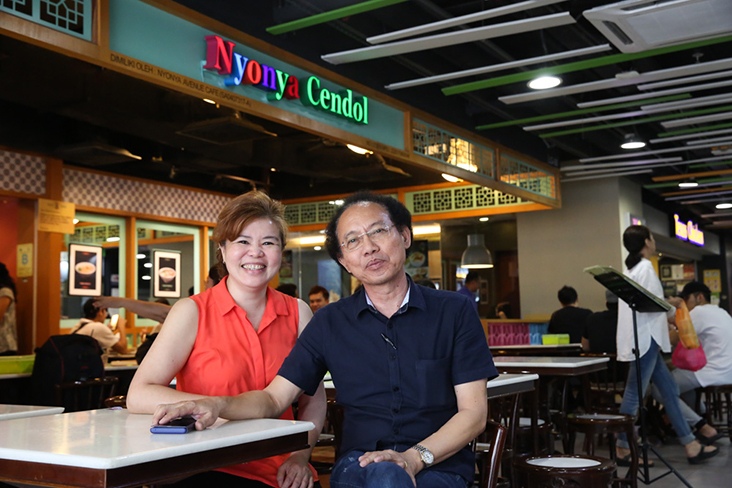 Tracy Eng and Richie Cheong started Nyonya Cendol back in 2016
