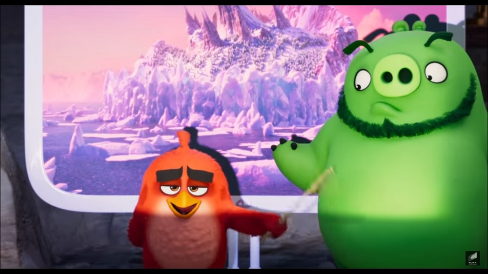 A screengrab from 'The Angry Birds Movie 2'.
