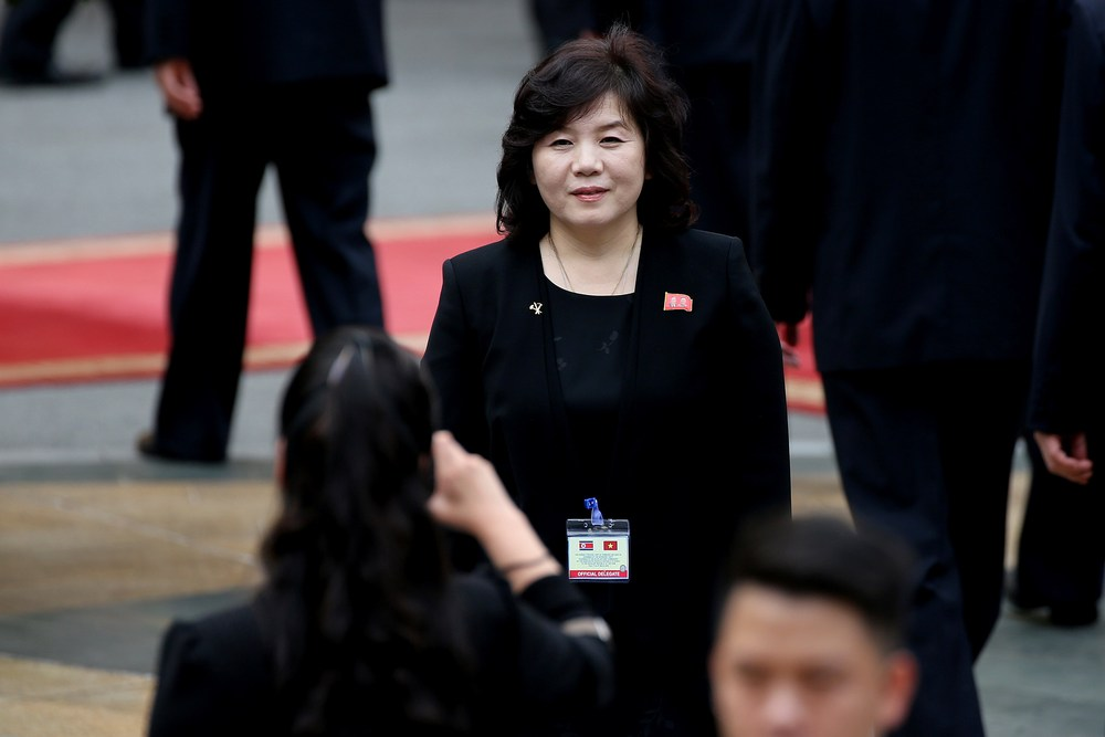 The launch came a day after the North's Vice Foreign Minister Choe Son-hui said that Pyongyang had agreed to hold working-level talks with Washington later this week. — Reuters pic