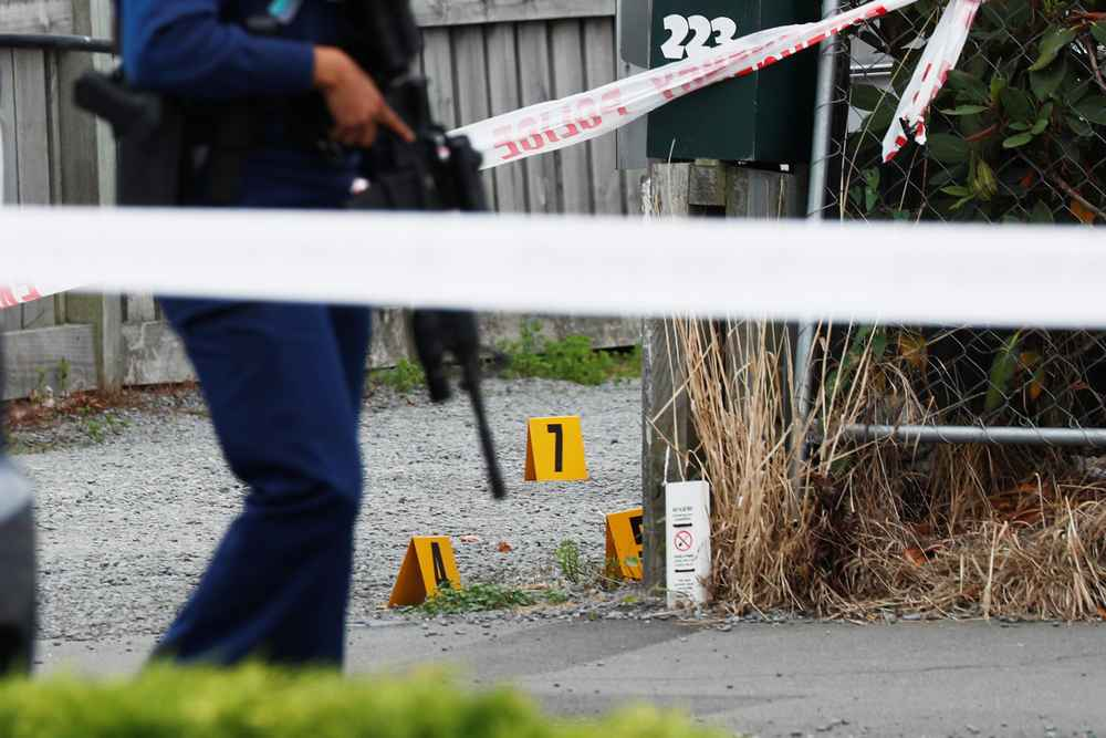 New Zealand police shot and killed a man on Friday after he stabbed and wounded at least five people in a supermarket. — Reuters pic
