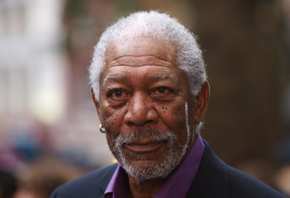 US actor Morgan Freeman — AFP pic