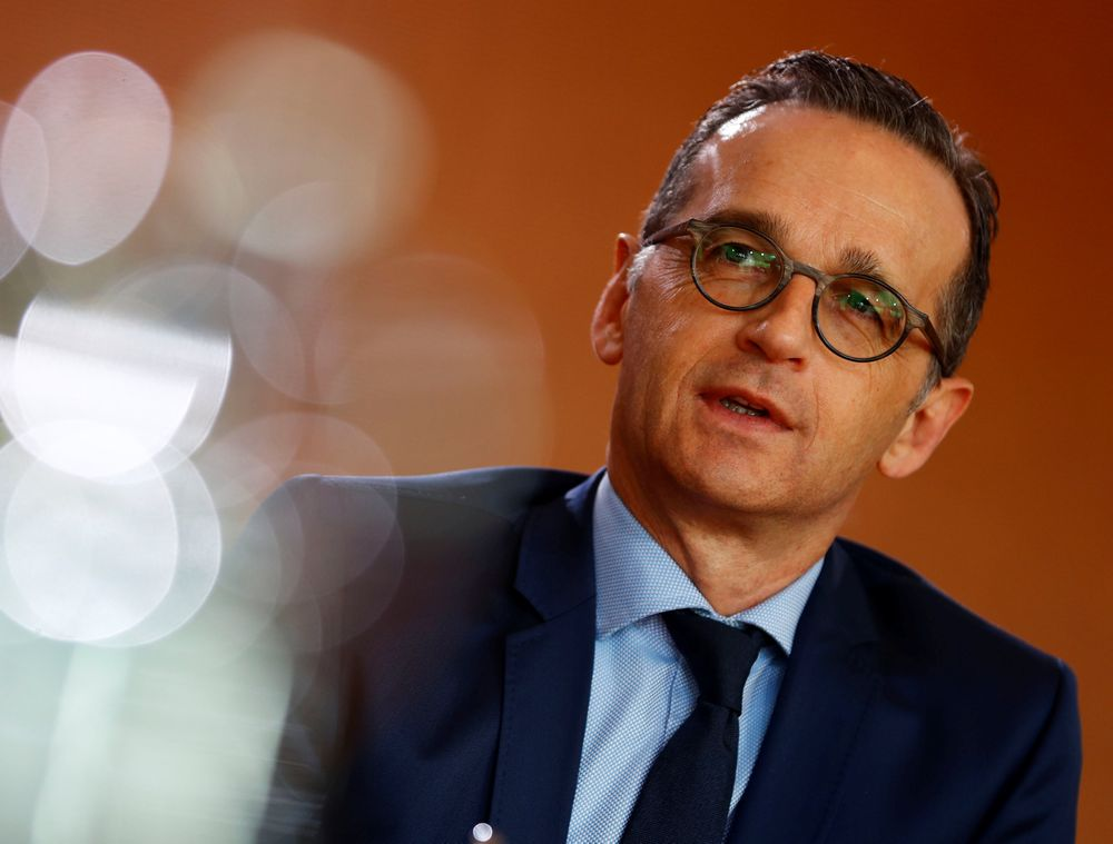 German Foreign Minister Heiko Maas attends the weekly cabinet meeting in Berlin February 20, 2019. — Reuters pic