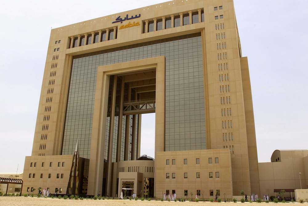 The headquarters of Saudi Basic Industries Corp (Sabic) is seen in Riyadh, Saudi Arabia April 19, 2016. — Reuters pic
