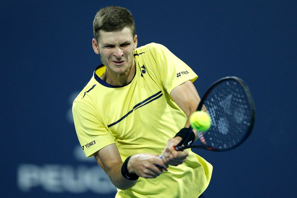 Hurkacz needed just 68 minutes to overcome Korda 6-3, 6-3,. — AFP pic