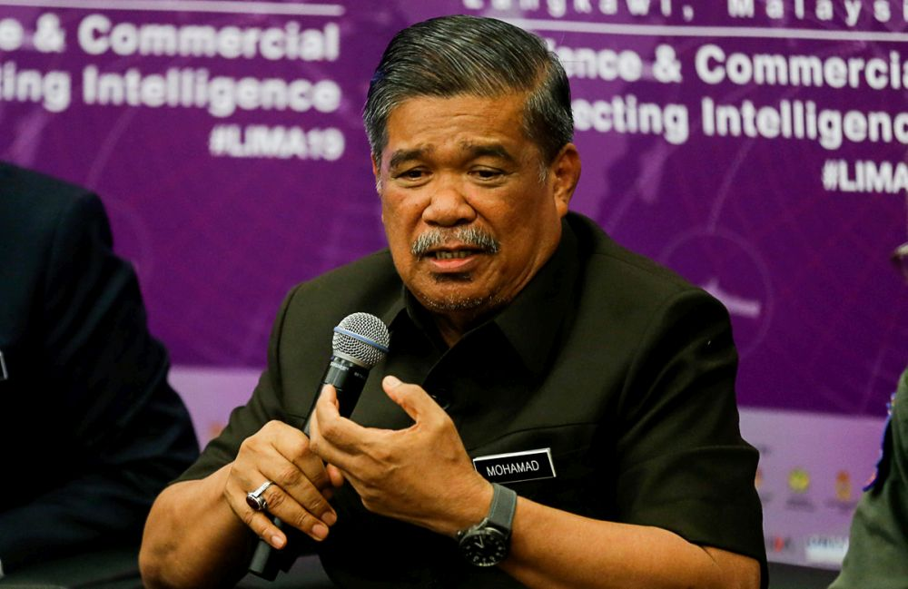 Mohamad Sabu said the two ministers had a wide-ranging and open discussion.— Picture by Sayuti Zainudin
