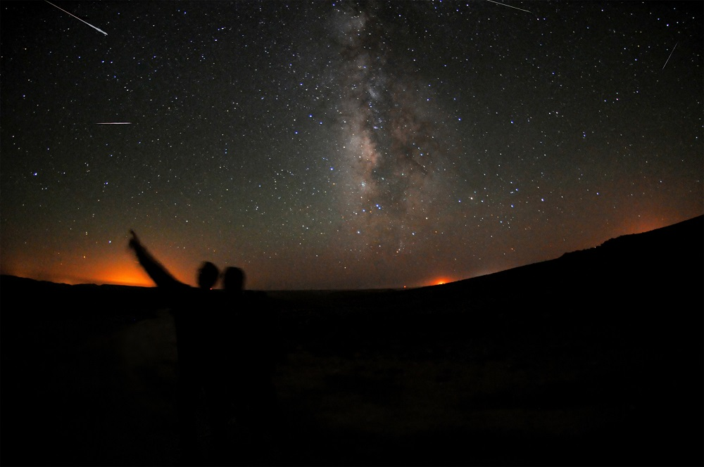 The National Space Agency (Angkasa), in a statement, said an average of between 60 and 100 meteors per hour can be seen streaking across the night sky during the peak of the shower, and can even go up to 150 meteors per hour.  — AFP pic
