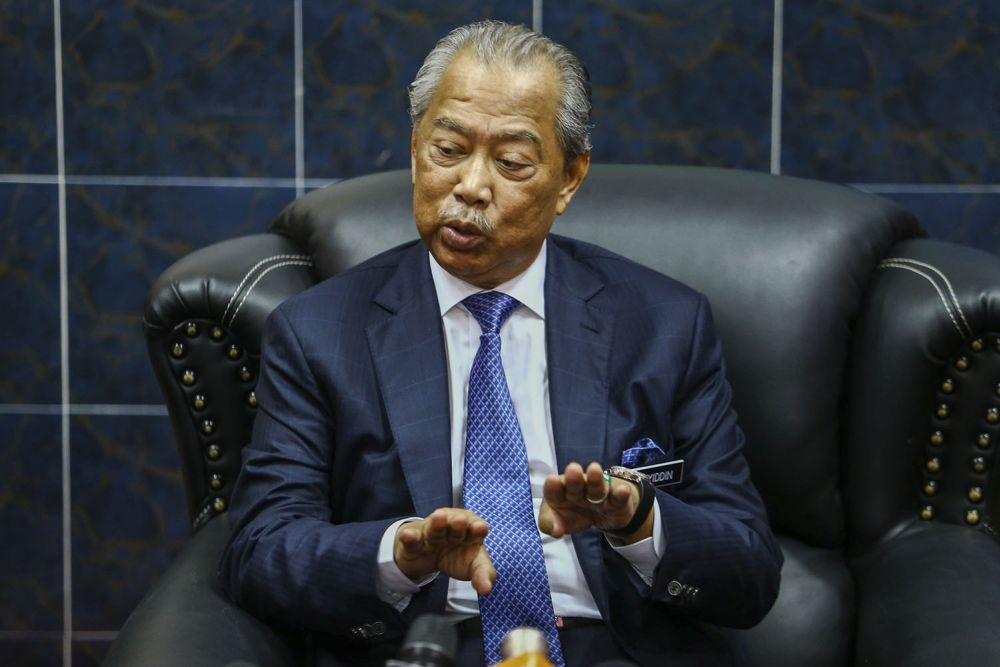 Home Minister Tan Sri Muhyiddin Yassin said community rehabilitation like the CSI will not only reduce prison management expenditures and overcrowding issues, but  also involve the community at large in the rehabilitation process of prisoners. — Picture by Hari Anggara