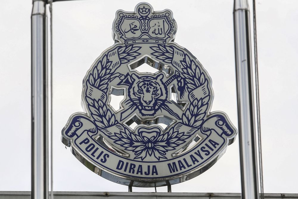 Police said a member of the 7th Battalion of the General Operations Force in Kuantan almost died when he was dragged for almost 100 metres by a vehicle suspected of being driven by a smuggler. ― Picture by Hari Anggara