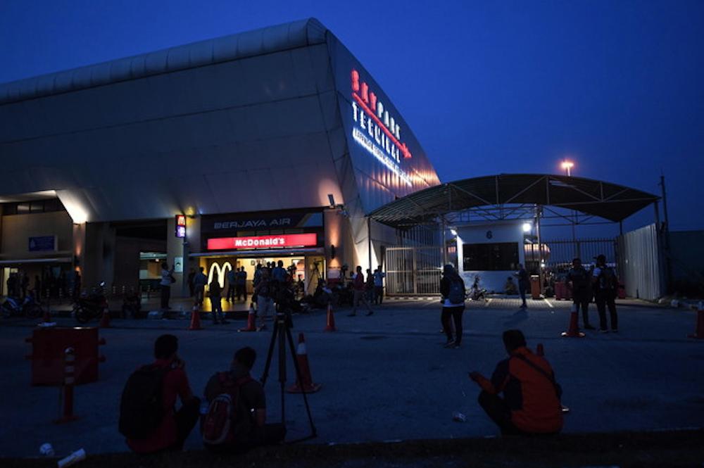 A general view of the Sultan Abdul Aziz Shah Airport in Subang May 12, 2018. — Bernama pic